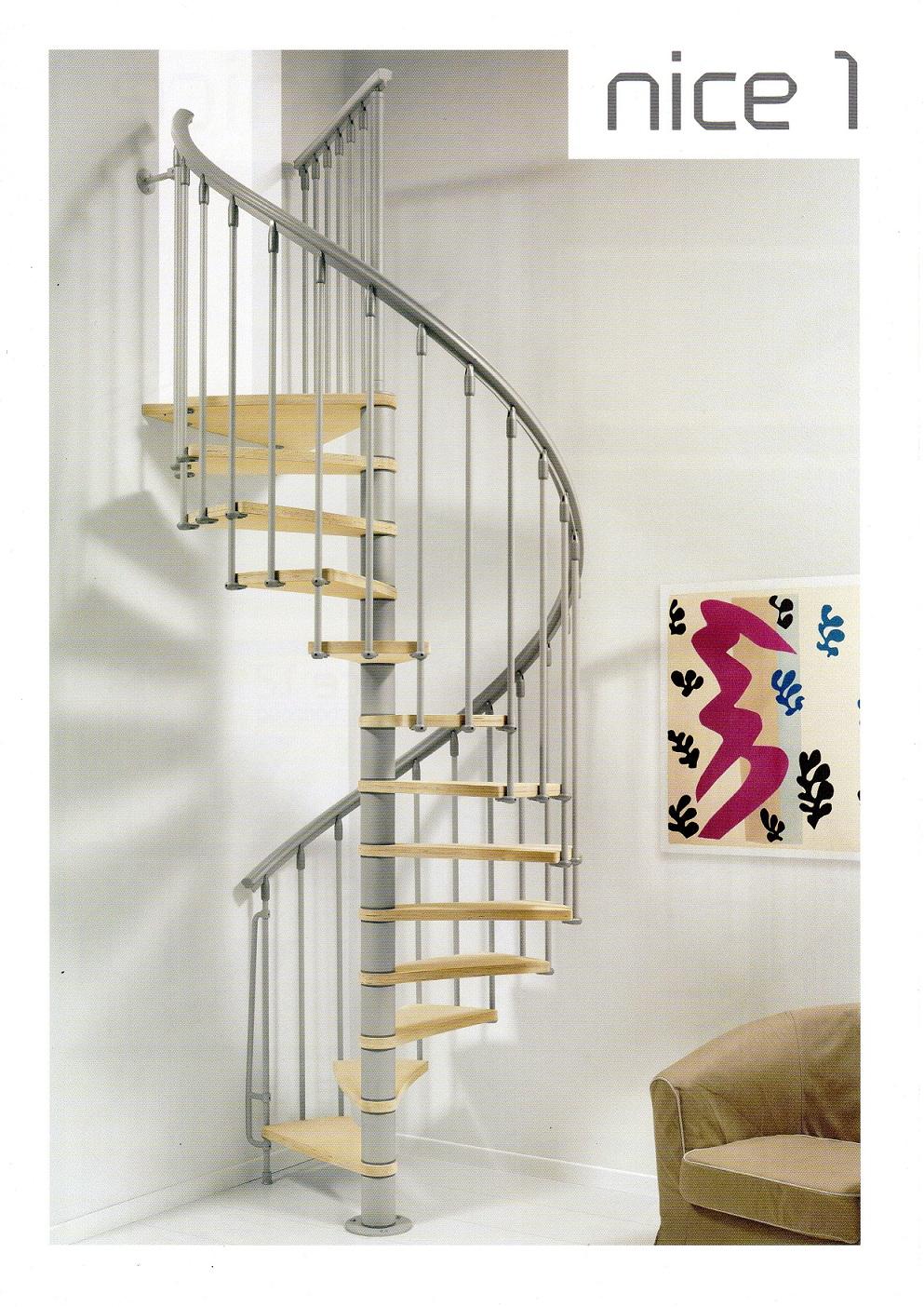 Stalen trap de nice 1 van arke trappen uit italie - De trap van de bistro ...