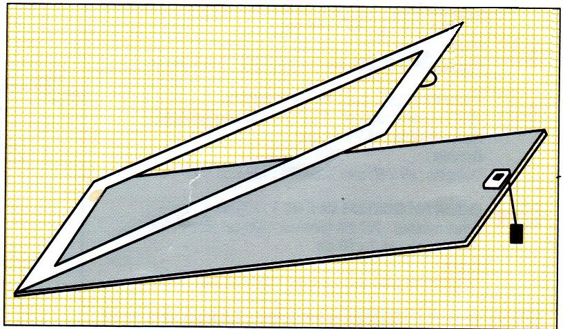 Dit vlizoluik 128 x 68 cm is los teverkrijgen bij for Zelf zoldertrap maken