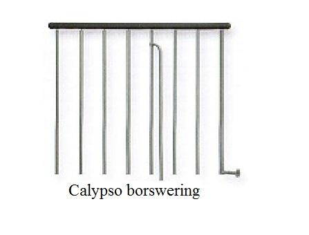 Calypso hekwerk