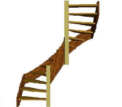Tweekwarten trap trap