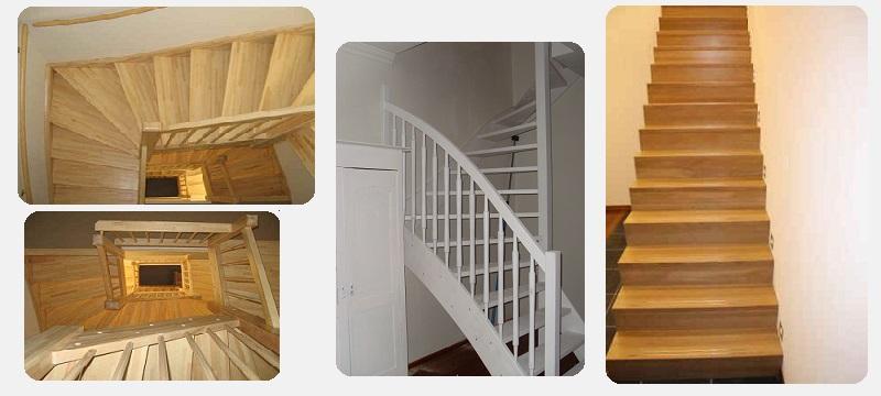 Houten trappen op maat koopt u altijd goedkoper bij for Goedkope trappen op maat